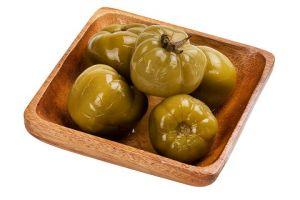 Соленые томаты зеленые 0,5 кг